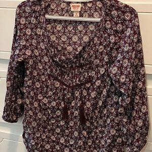 Mission blouse. Size XS.